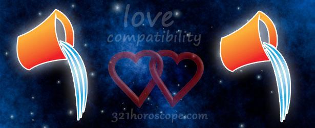 love compatibility aquarius and aquarius