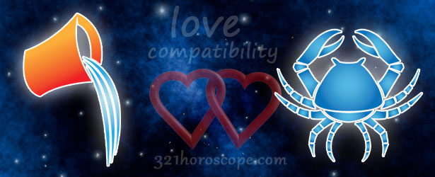 love compatibility cancer and aquarius