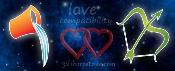 Aquarius Sagittarius compatibility - love horoscope aquarius and