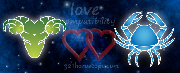 love compatibility cancer and aries