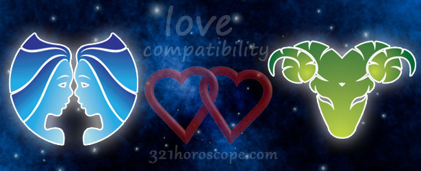 love compatibility aries and gemini