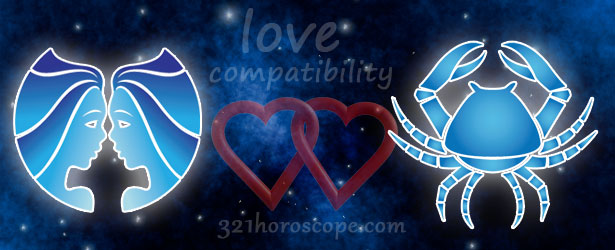 love compatibility cancer and gemini