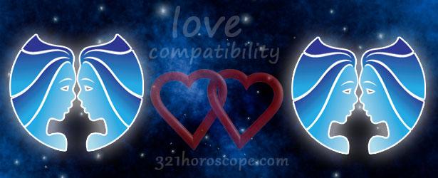 love compatibility gemini and gemini