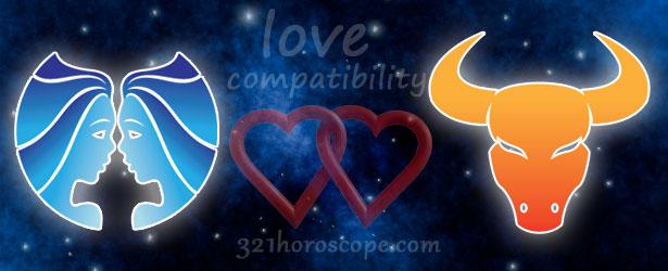 love compatibility taurus and gemini