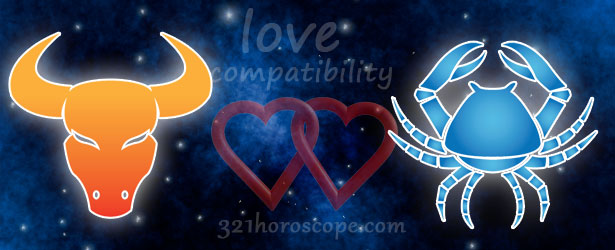 love compatibility cancer and taurus