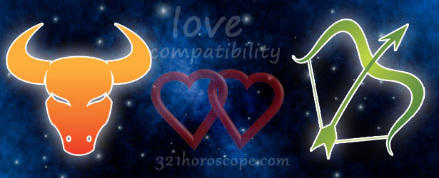 love compatibility sagittarius and taurus